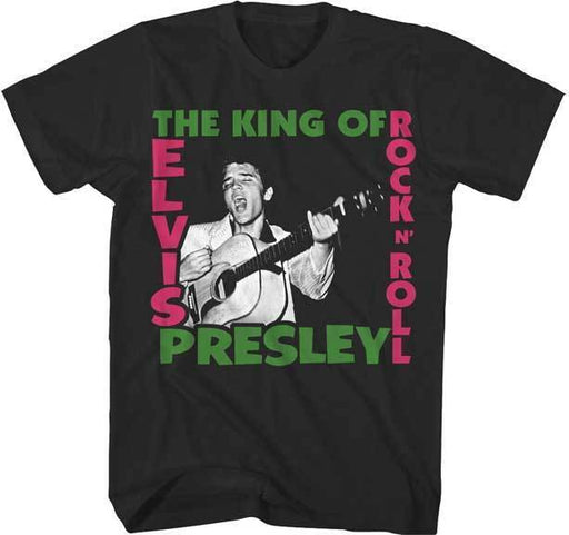 T-Shirt - Elvis - The King of Rock