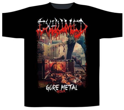 T-Shirt - Exhumed - Gore Metal Redux