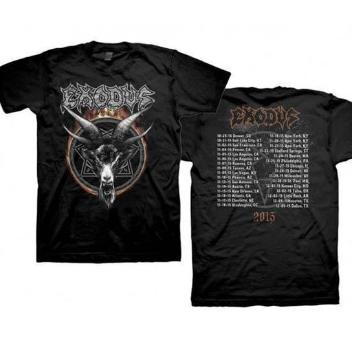 T-Shirt - Exodus - Demon Goat (tour 2015)-Metalomania