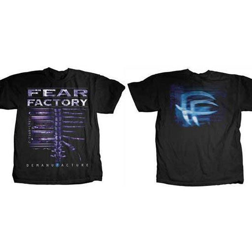 T-Shirt - Fear Factory - Demanufacture-Metalomania