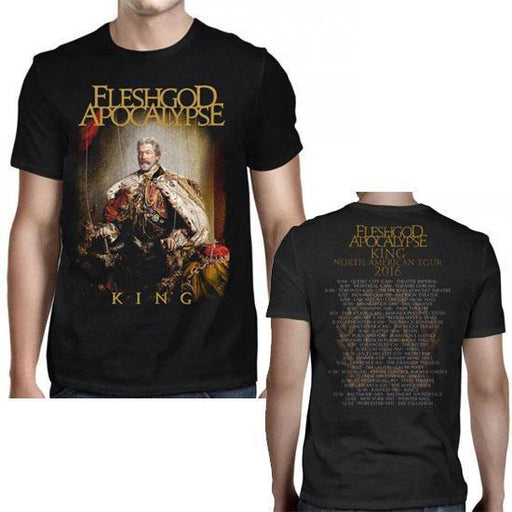 T-Shirt - Fleshgod Apocalypse - King 2016 Tour-Metalomania