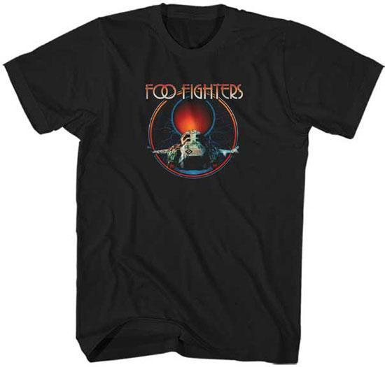 T-Shirt - Foo Fighters - Red Moon-Metalomania