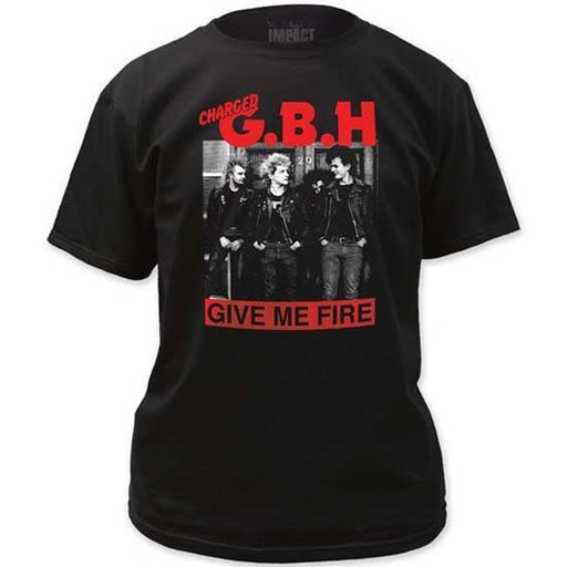 T-Shirt - GBH - Give me Fire