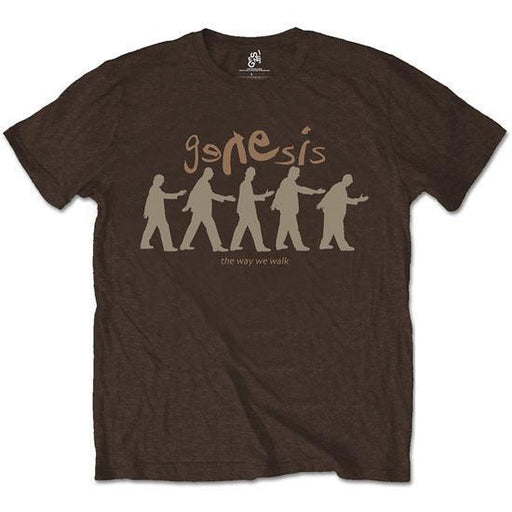 T-Shirt - Genesis - The Way We Walk - Brown-Metalomania