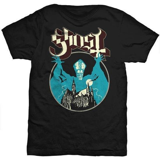 T-Shirt - Ghost - Opus Eponymous (red letters)-Metalomania