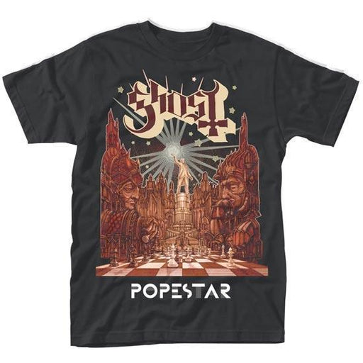 T-Shirt - Ghost - Popestar-Metalomania