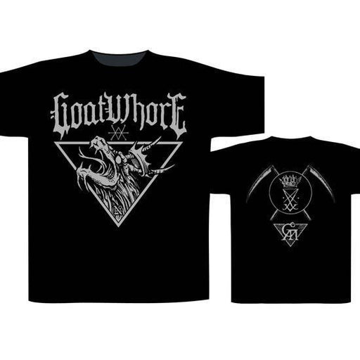 T-Shirt - Goatwhore - Dragon Crest-Metalomania