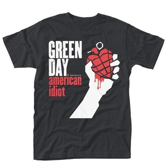 T-Shirt - Green Day - American Idiot-Metalomania