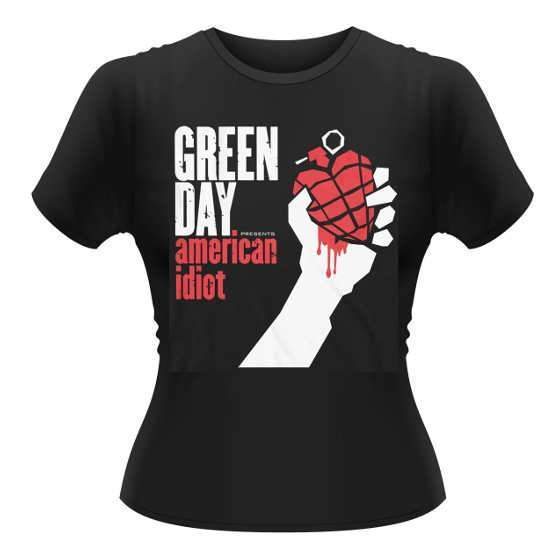 T-Shirt - Green Day - American Idiot - Lady -Metalomania