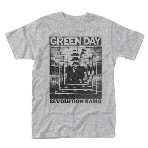 T-Shirt - Green Day - Power Shot - Revolution Ratio - Grey