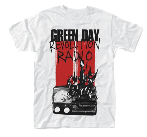 T-Shirt - Green Day - Radio Combustion - White