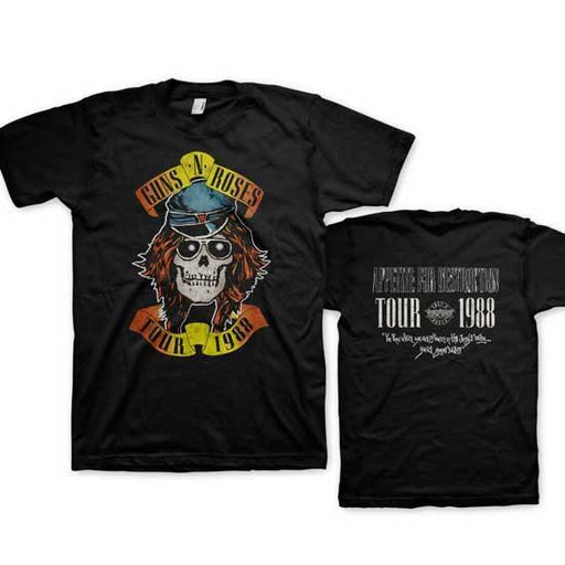 T-Shirt - Guns N Roses - Appetite Tour 1988-Metalomania