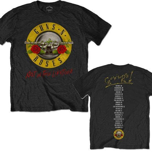 T-Shirt - Guns N Roses - Not in this Lifetime Tour - Bullet-Metalomania