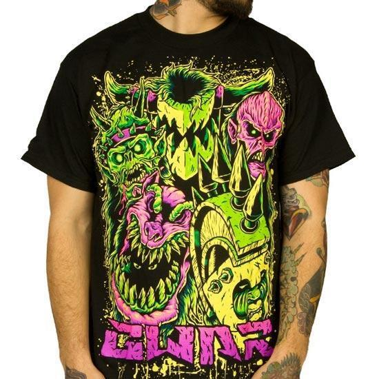 T-Shirt - GWAR - Faces-Metalomania