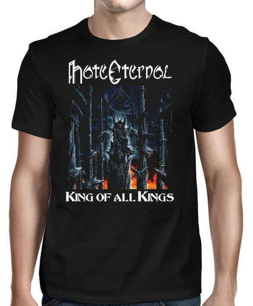 T-Shirt - Hate Eternal - King of all Kings-Metalomania