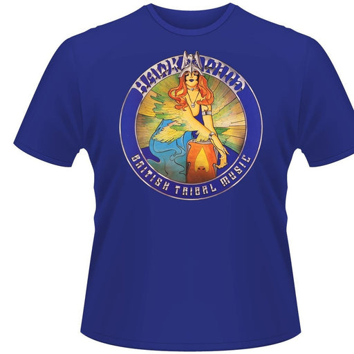 T-Shirt - Hawkwind - British Tribal Music