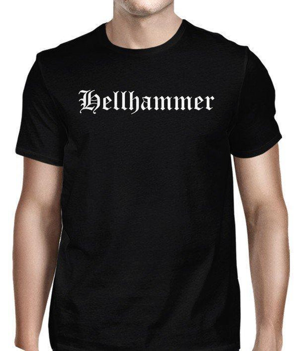 T-Shirt - Hellhammer - Old English Logo-Metalomania