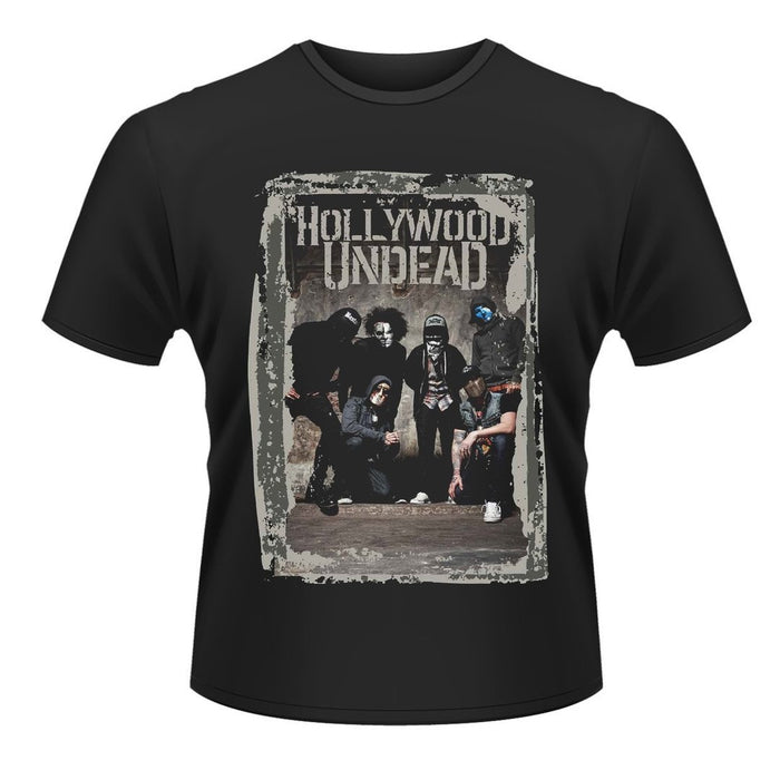T-Shirt - Hollywood Undead - Cement Photo-Metalomania