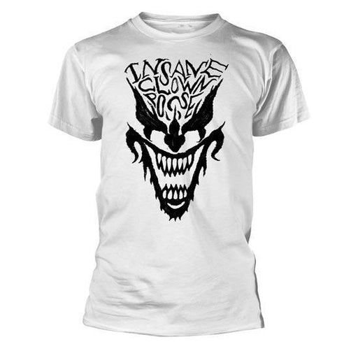 T-Shirt - ICP - Face - White-Metalomania