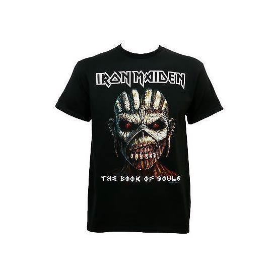 T-Shirt - Iron Maiden - Book of Souls Close Up-Metalomania