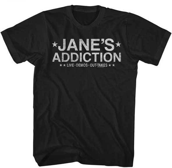 T-Shirt - Jane's Addiction - Live Demos Out-Takes-Metalomania