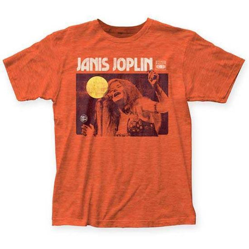 T-Shirt - Janis Joplin - Singing