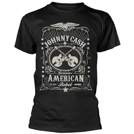T-Shirt - Johnny Cash - American Rebel-Metalomania