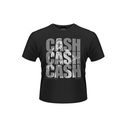 T-Shirt - Johnny Cash - Cash Cash Cash-Metalomania