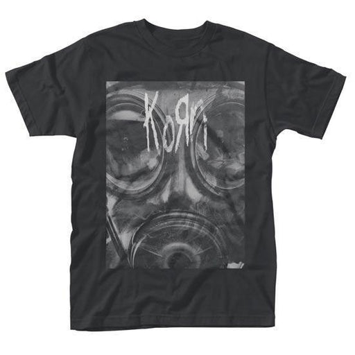 T-Shirt - Korn - Gas Mask -Metalomania