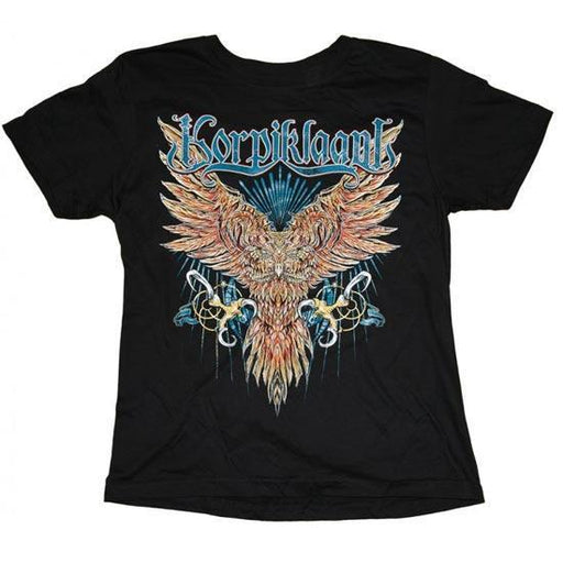 T-Shirt - Korpiklaani - Owl / Tour-Metalomania