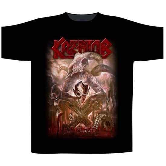T-Shirt - Kreator- Gods of Violence-Metalomania