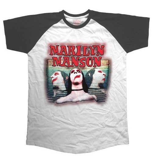 T-Shirt - Marilyn Manson - Sweet Dreams - Raglan Style