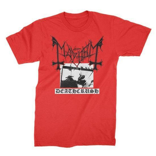 T-Shirt - Mayhem - Deathcrush - Red-Metalomania