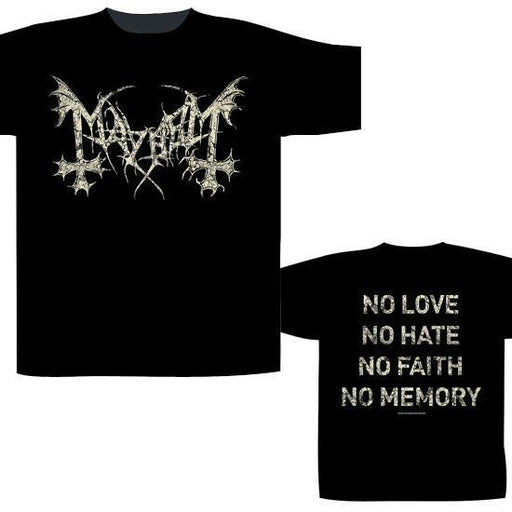 T-Shirt - Mayhem - No Love No Hate-Metalomania
