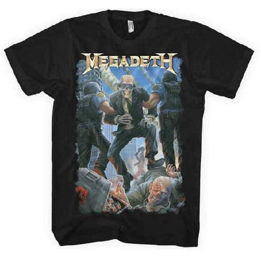 T-Shirt - Megadeth - Vic Taken Away-Metalomania