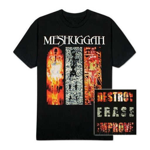 T-Shirt - Meshuggah - Destroy Erase Improve-Metalomania