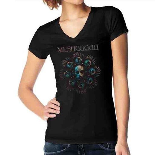 T-Shirt - Meshuggah - Head Blade - Lady-Metalomania