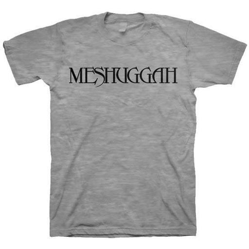 T-Shirt - Meshuggah - Logo Oxford (grey)-Metalomania
