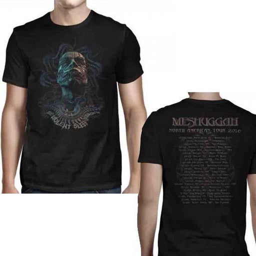 T-Shirt - Meshuggah - Tentacle Head 2016 Tour-Metalomania