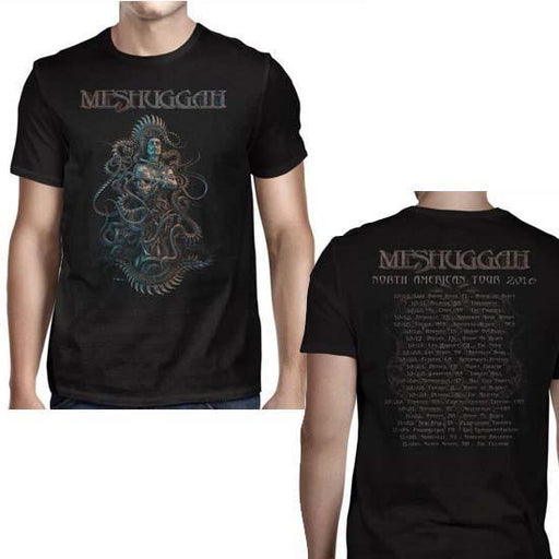 T-Shirt - Meshuggah - Violent Sleep 2016 Tour-Metalomania