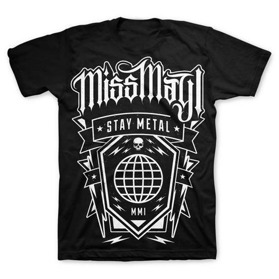 T-Shirt - Miss May I - Globe-Metalomania