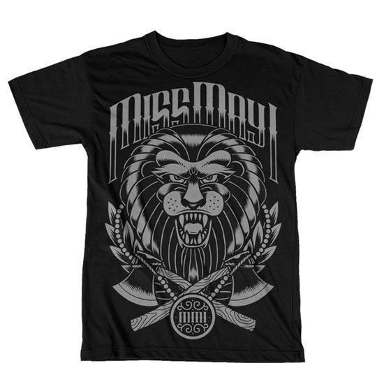 T-Shirt - Miss May I - Tiger-Metalomania