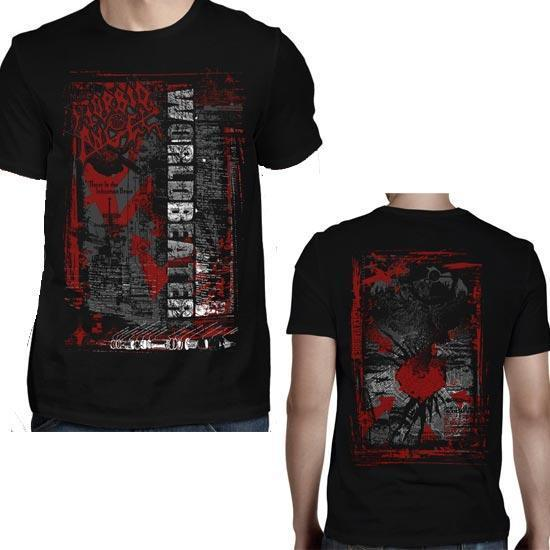 T-Shirt - Morbid Angel - Worldbeater Red Arrows-Metalomania