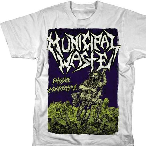 T-Shirt - Municipal Waste - Massive Aggressive