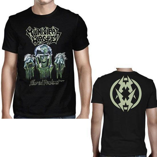 T-Shirt - Municipal Waste - Slime & Punishment