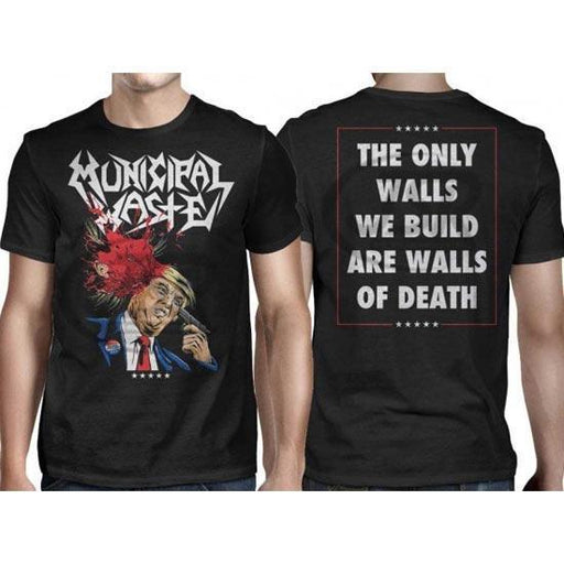 T-Shirt - Municipal Waste - Trump Walls of Death
