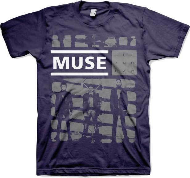 T-Shirt - Muse - One Shade of Gray-Metalomania
