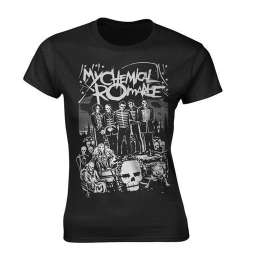 Official My Chemical Romance I Survived Unisex T-Shirt Parade Scary Appetite