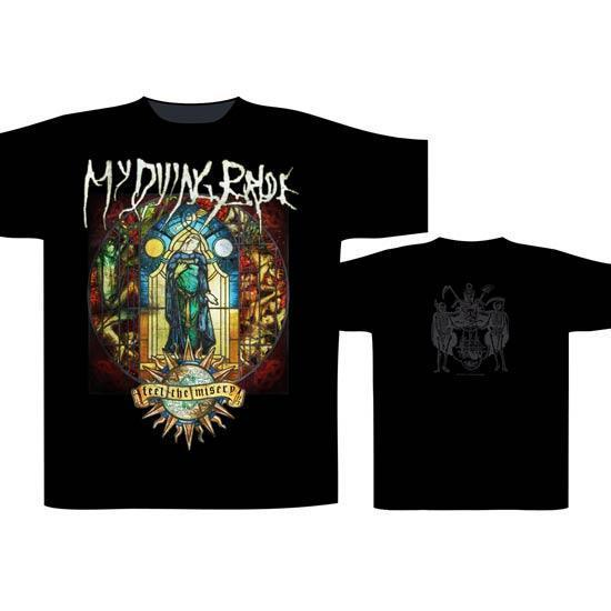 T-Shirt - My Dying Bride - Feel the Misery-Metalomania