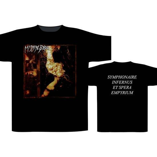 T-Shirt - My Dying Bride - Symphonaire-Metalomania